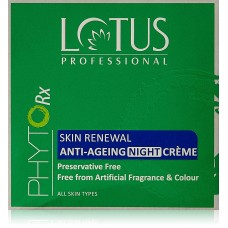 Lotus Professional Phyto Rx Skin Renewal Anti Ageing Night Cream, 50g